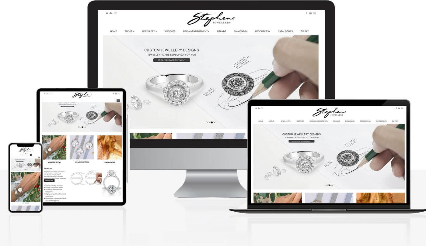 WEB DESIGN JEWELRY AT STARGEMS
